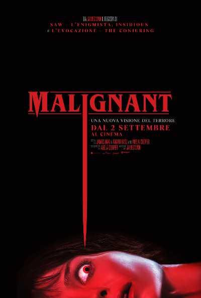 MALIGNANT - Il nuovo thriller/horror di  James Wan. Ecco il trailer