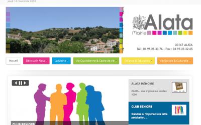 La commune d'Alata est en .corsica
