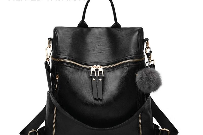 Herald Fashion Women Leather Backpack High Quality Fashion Bag 1