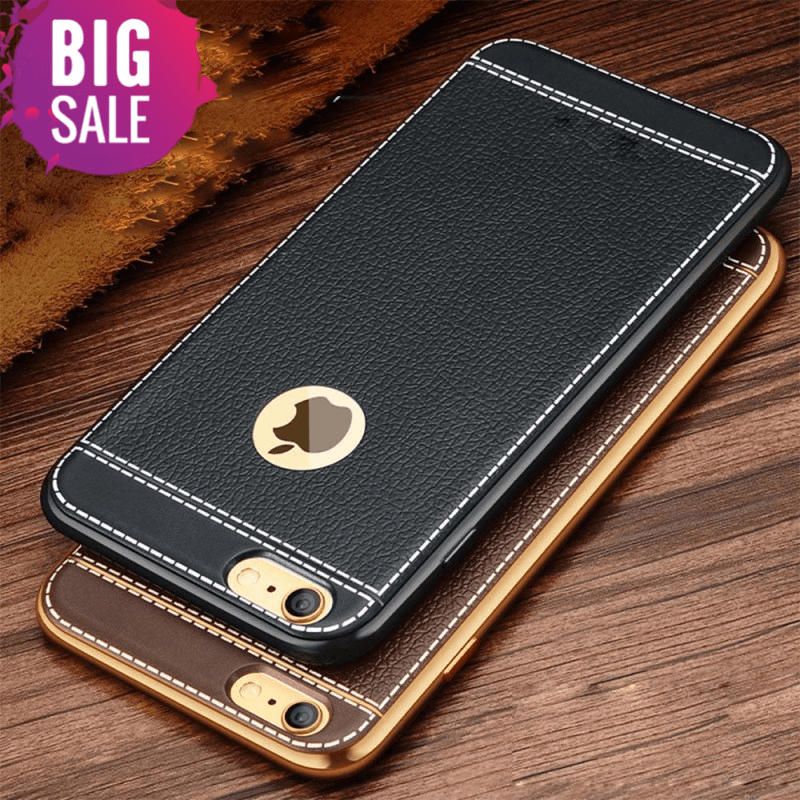 Gold Plated Iphone Case for 6S 6 7 8 Plus 5S 5 SE and new models 1
