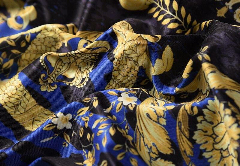 Royles! Men's Leopard styled Floral Long Sleeve Shirt 4