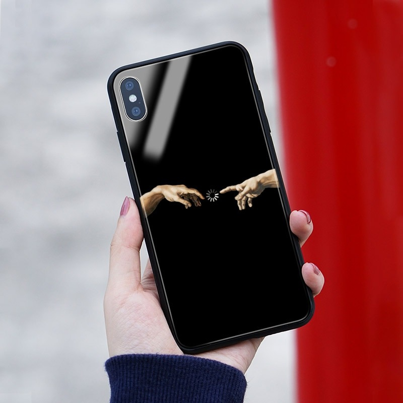 Royles art silicon Iphone X casing 1