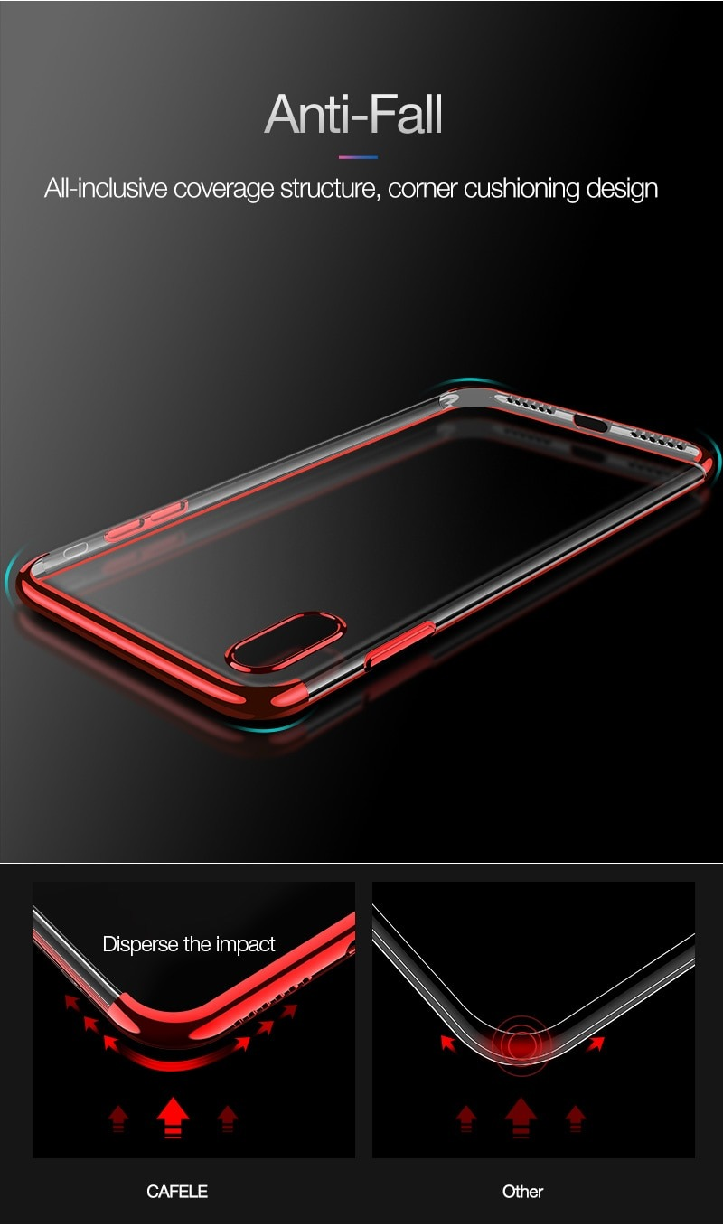 Royles! Silicon anti-scratch iPhone X case 5