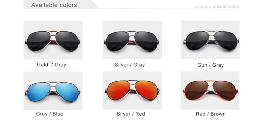 Aluminum Polarized Sunglasses Eyeglasses 20