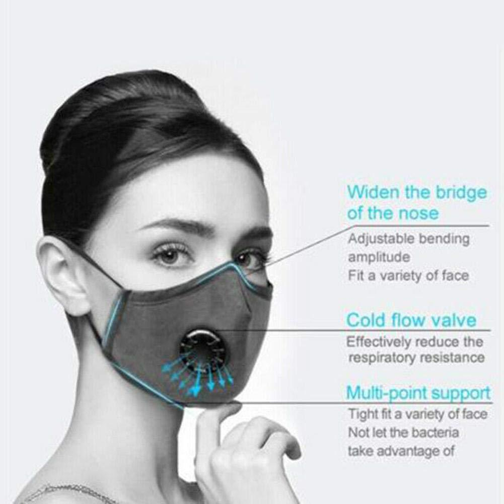 Cotton Breath 5 Layer N95 Face Mask Anti-Dust Anti Pollution Protection 3