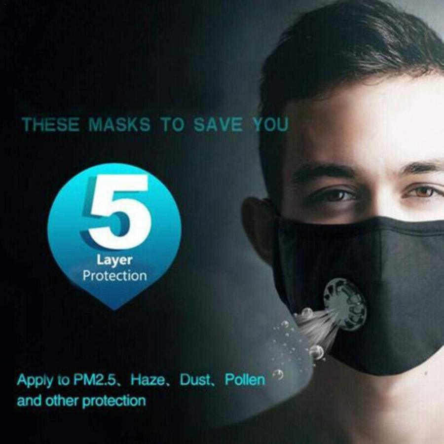 Cotton Breath 5 Layer N95 Face Mask Anti-Dust Anti Pollution Protection 27