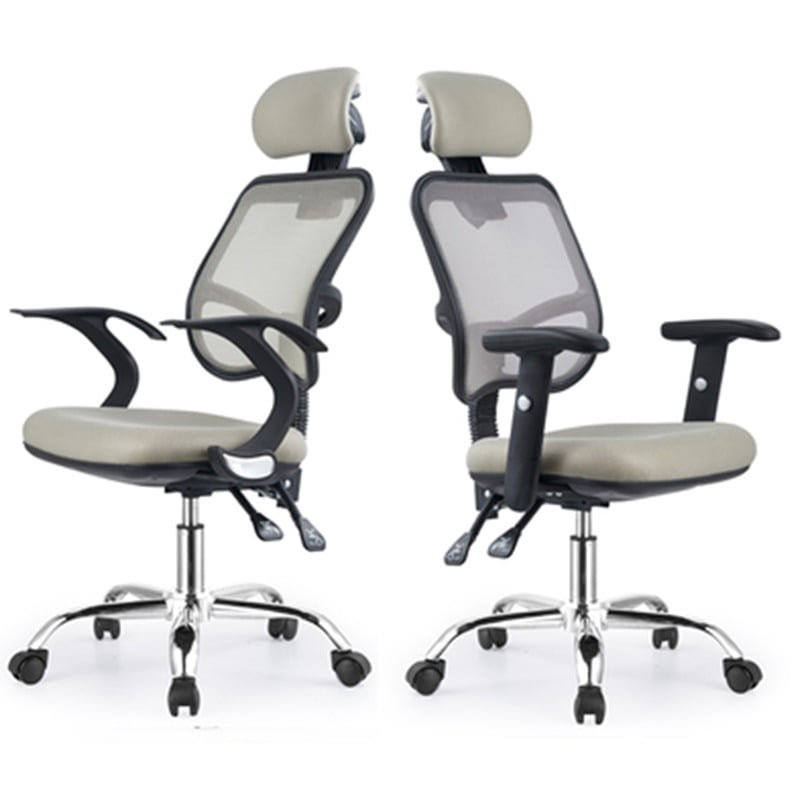 modern minimalist recliner office chair swivel  4