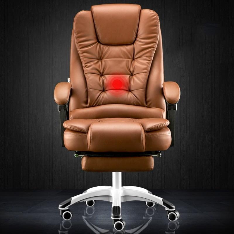 Reclining massage foot rest seat  2
