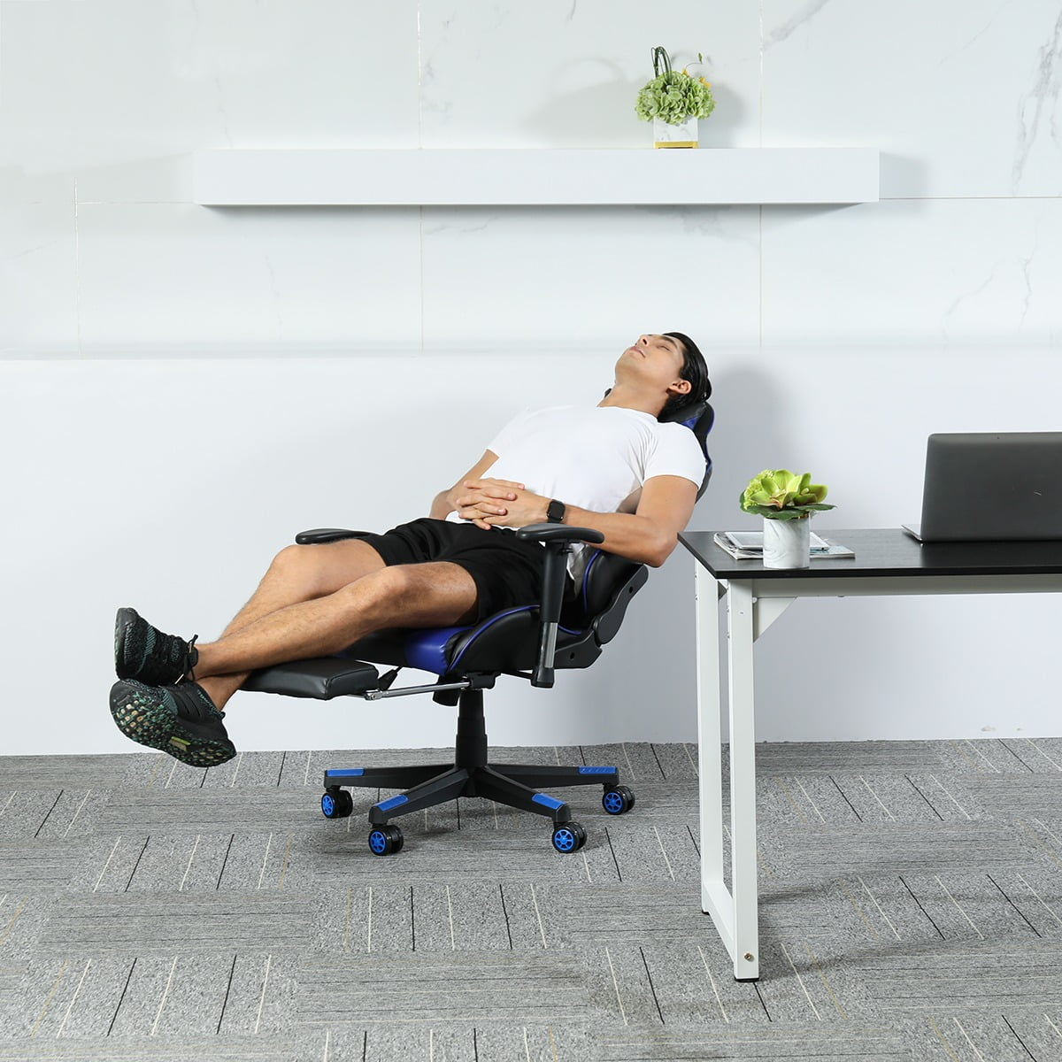 Ergonomic Gaming Recliner Office Chair 5