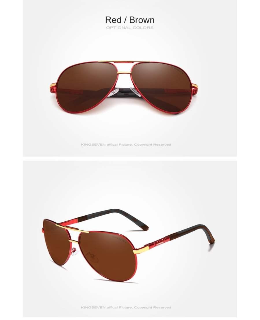 Aluminum Polarized Sunglasses Eyeglasses 28