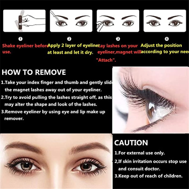 Waterproof Magnetic Eyelashes Extension 6