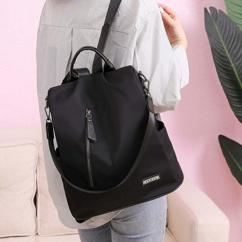 Women Anti-Theft Waterproof Fabric Backpack 6