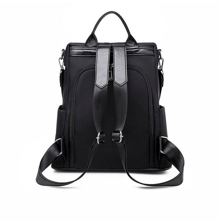 Women Anti-Theft Waterproof Fabric Backpack 7