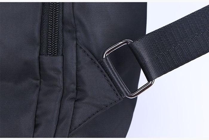 Women Anti-Theft Waterproof Fabric Backpack 11