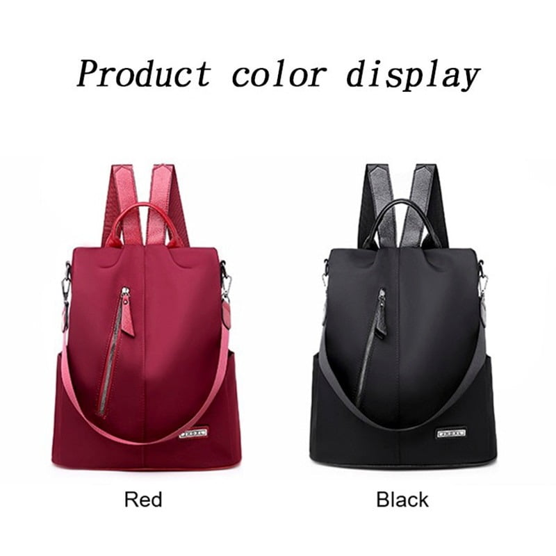 Women Anti-Theft Waterproof Fabric Backpack 5
