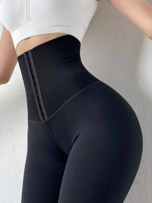 Women High Waist Sport Leggings  1