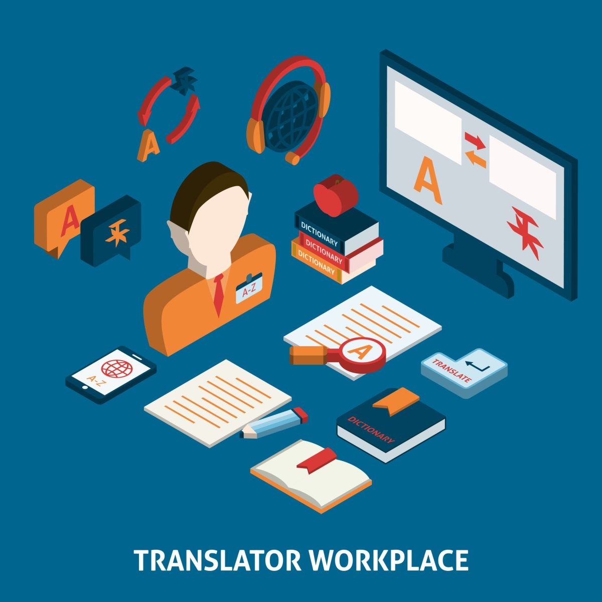 Real world translation and augmented reality