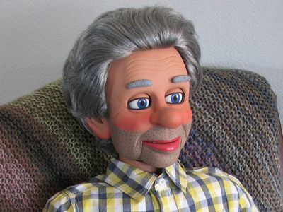 Puppets and Props: Ventriloquist Dummies Figures