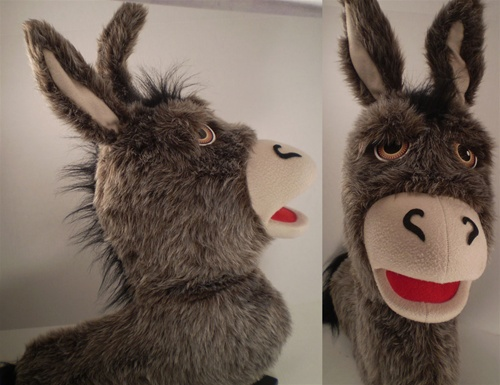 Professional Donkey Puppet For Church Ministry Christmas