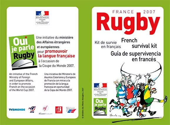 French Rugby World Cup 2007 survival guide