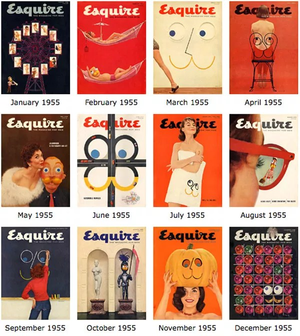 The complete history of Esquire Magazine's Covers