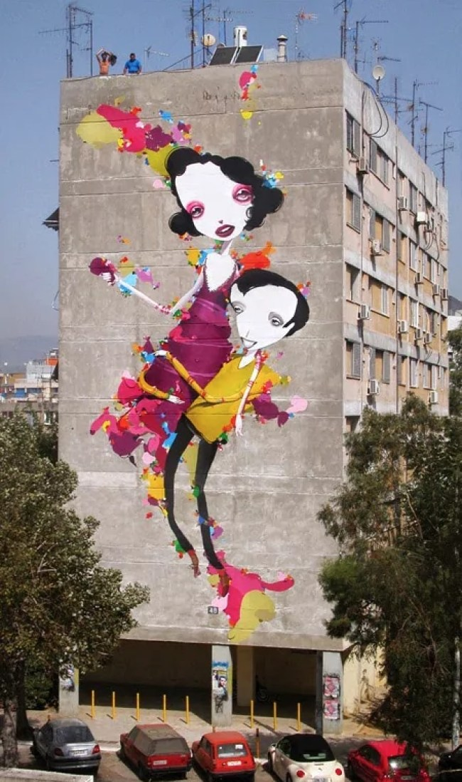 THE MURALS OF ALEXANDROS VASMOULAKIS