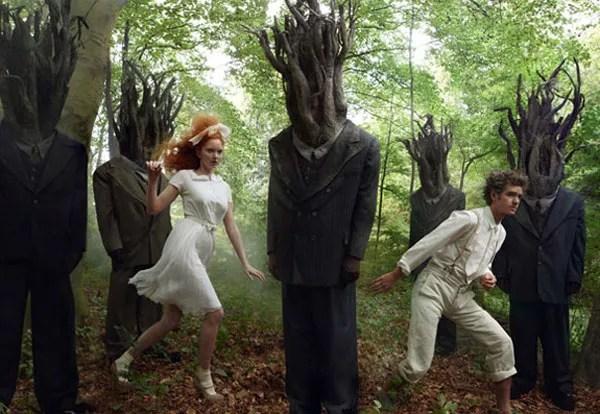 Annie Leibovitz shoots Hansel and Gretel