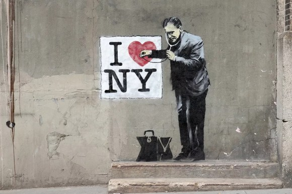 Banksy in NY May 2010