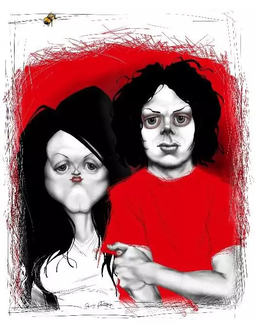 The many faces of The White Stripes