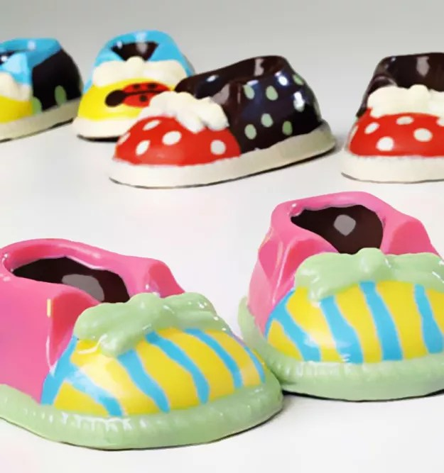 Chocolate shoes…