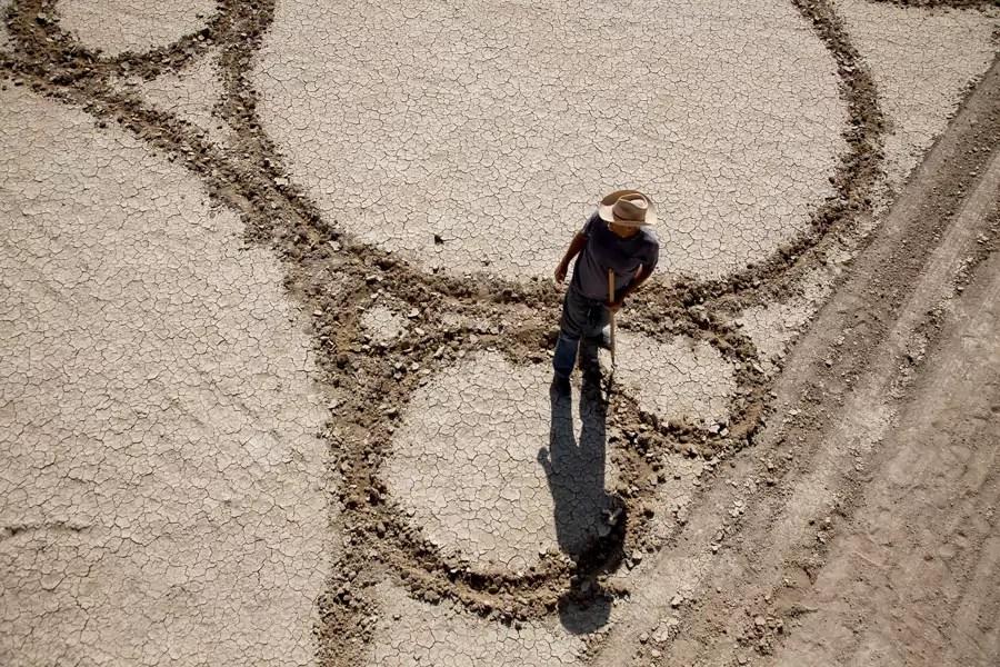 Jim Denevan – The Earth is his Canvas- Black Rock Desert 01