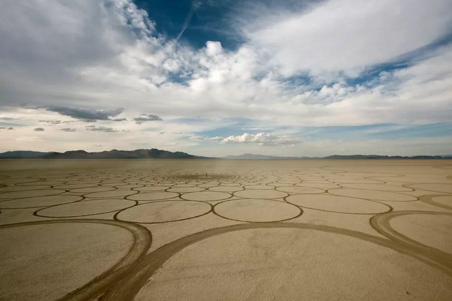Jim Denevan – The Earth is his Canvas- Black Rock Desert 07