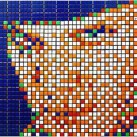 Rubikubism – Rubik cube art