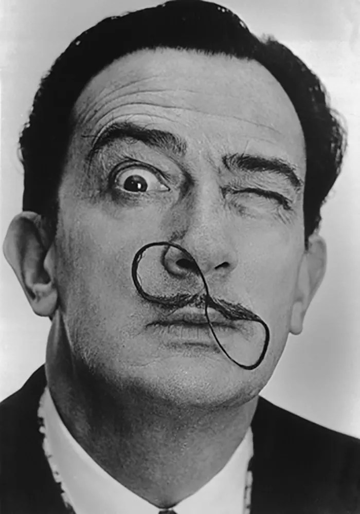 Salvador Dali Portraits by Phillipe Halsman — 1954