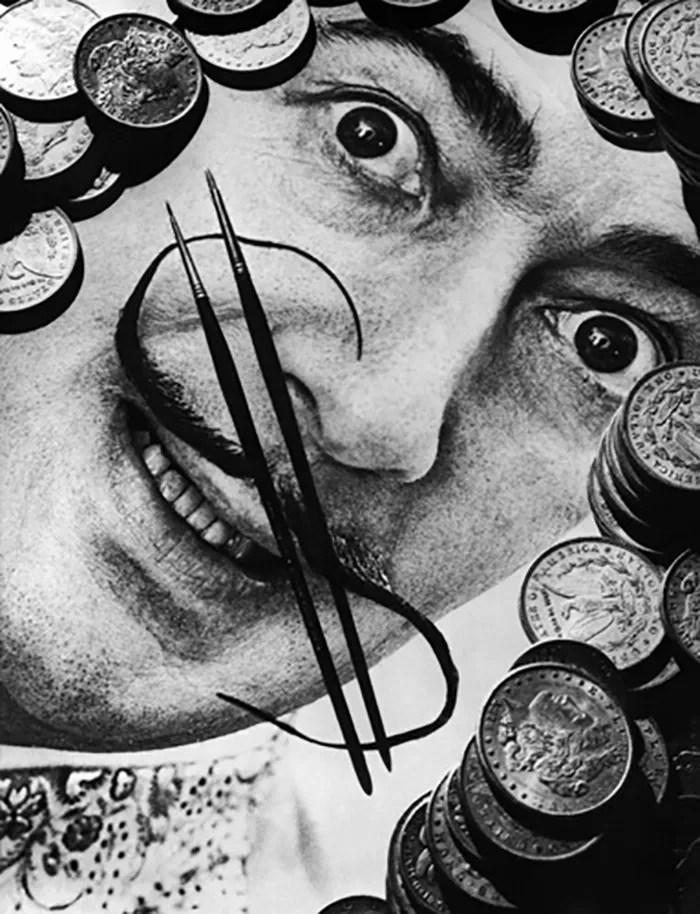 Salvador Dali Portraits by Phillipe Halsman — 1954