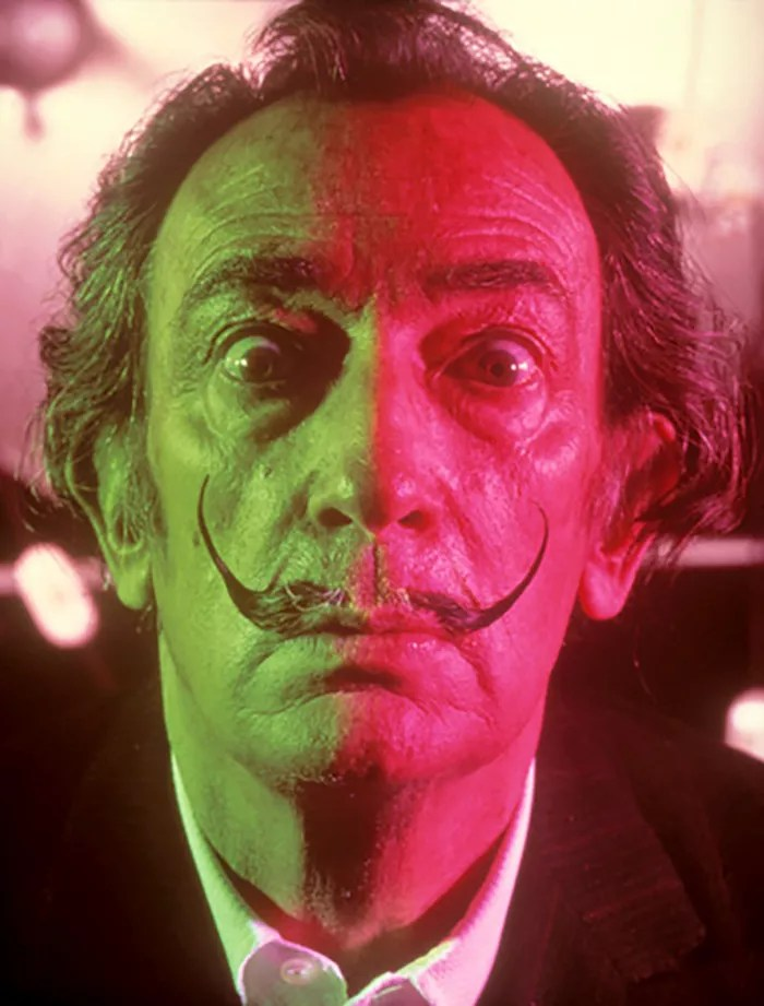 Salvador Dali Portraits by Phillipe Halsman — 1967