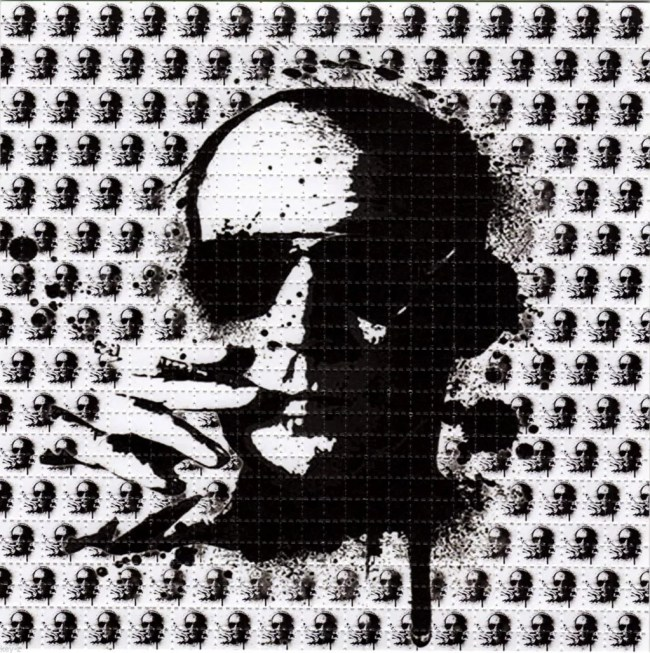 The LSD Blotter – Daily Dose Of Tab Acid Art 06