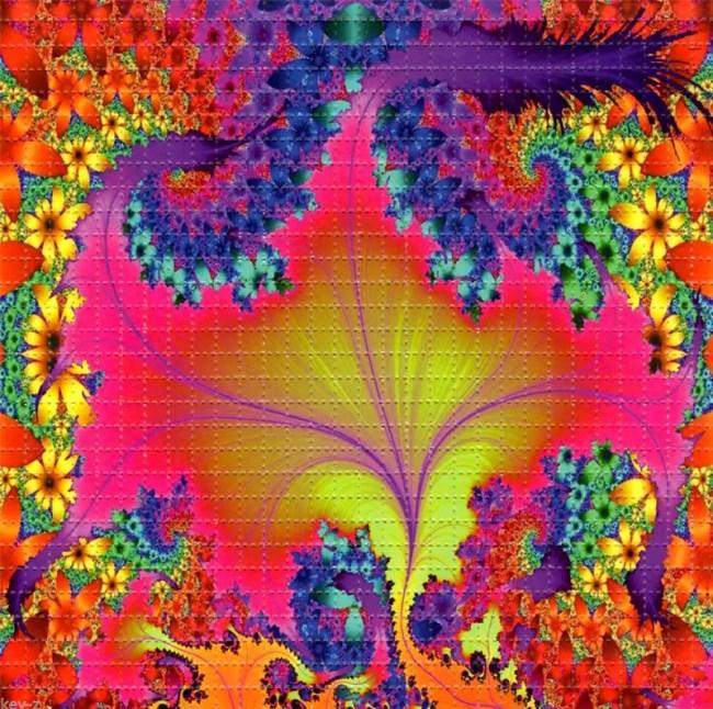 The LSD Blotter – Daily Dose Of Tab Acid Art 02