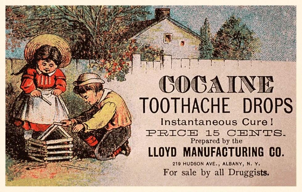 Cocaine, Laudanum, Opium, Methedrine and Asthma Cigarettes