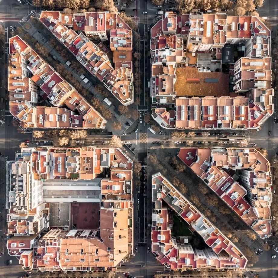 Barcelona From Above —Márton Mogyorósy