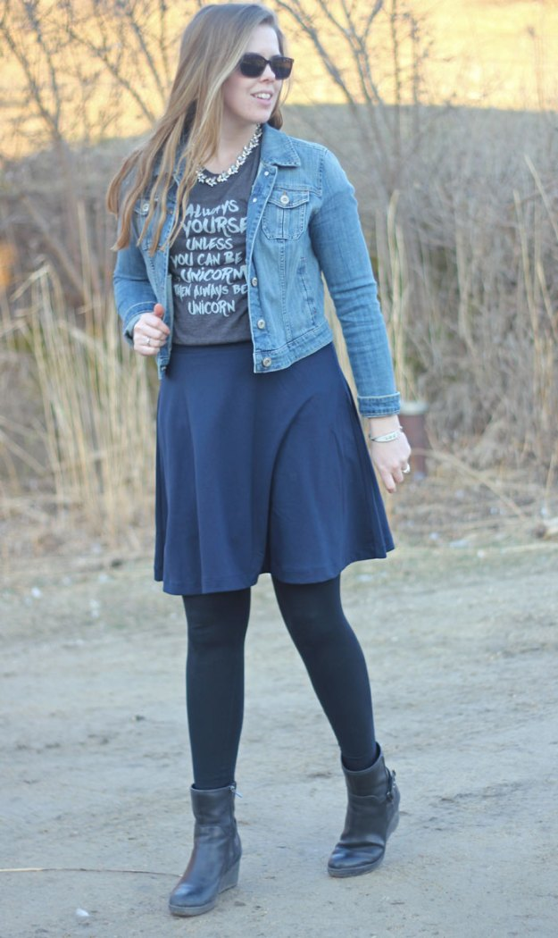 unicorn-graphic-tee-navy-skirt-denim-jacket-3