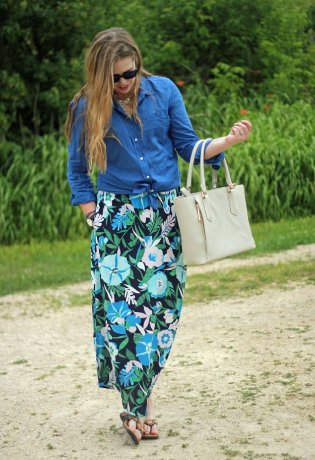 floral-maxi-skirt-lilly-pulitzer-camp-shirt-loren-hope-bow-necklace-3