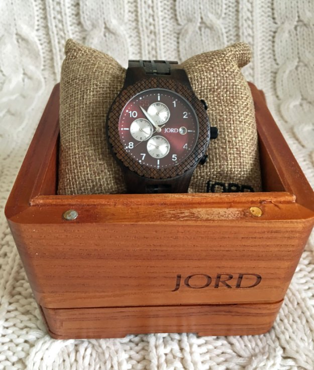 Winter Wardrobe: JORD wooden watch | winter style | Puppies & Pretties