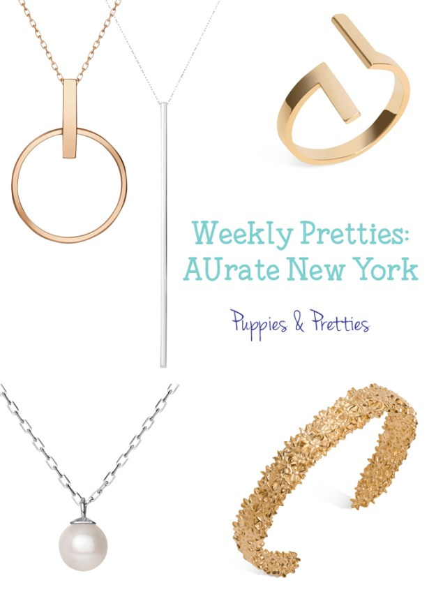 AUrate New York   Fine jewelry, No concessions. AUrate has some great jewelry options that will stand the test of time and style   Puppies & Pretties