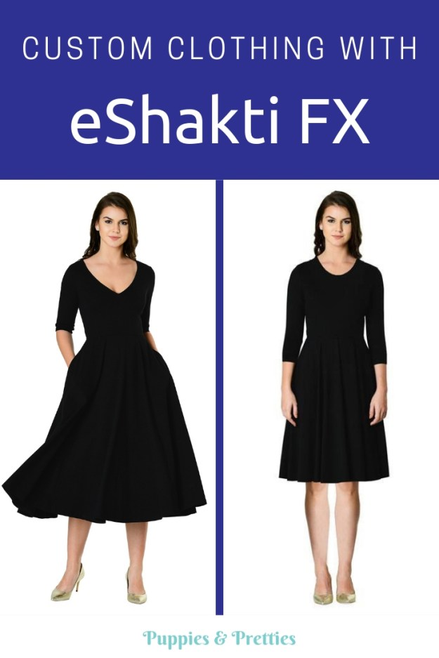 Custom clothing with eShaktiFX: New options are now available at eShakti to make an item truly for you. | Puppies & Pretties