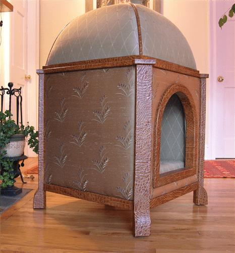 couture domed pavilion dog bed - Você daria este colar para seu Pet?