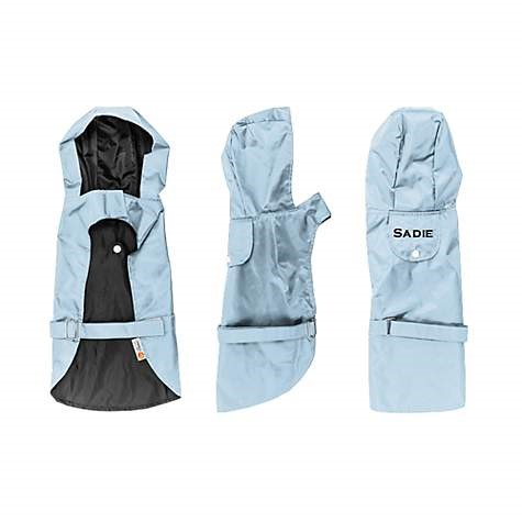 personalized dog raincoat image, for dog gift ideas