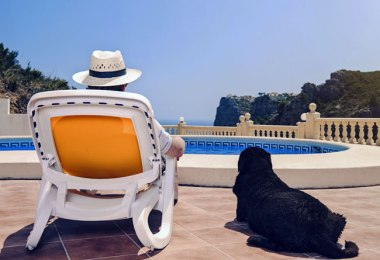 Vacationing with Dog FI