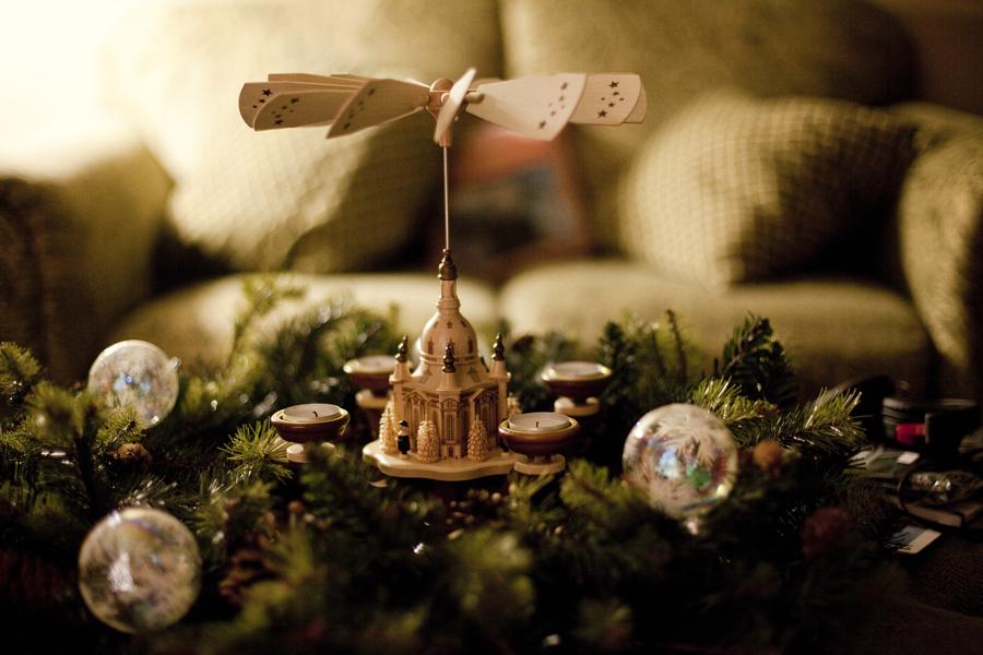Christmas pyramid.