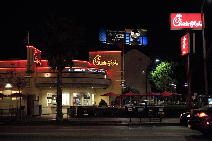 Chick-fil-A at Hollywood.